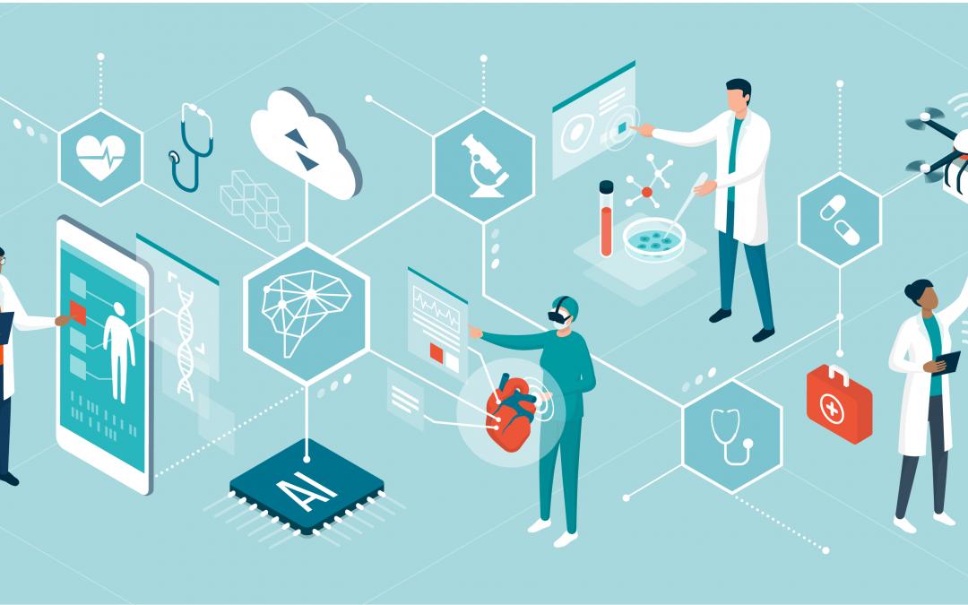 Künstliche Intelligenz in der Medizin – kein Weg führt daran vorbei!  Helfen Sie mit, die ethischen und sozialen Fragen der Zukunft der Medizin zu definieren.