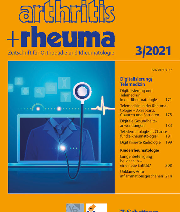 Digitalization and telemedicine in rheumatology