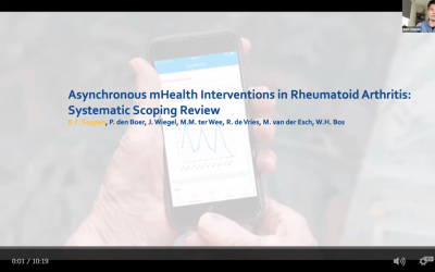 Asynchronous mHealth interventions in rheumatoid Arthritis: systematic scoping review